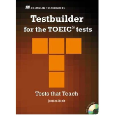 Testbuilder for the TOEIC tests + Audio CD