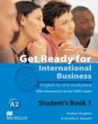 Get Ready for International Business 1 Książka ucznia [TOEIC]