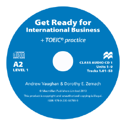 Get Ready for International Business 1 Class CD [TOEIC]