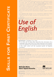 Skills for First Certificate Use of English Książka ucznia