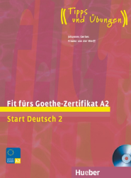 Fit fürs Goethe-Zertifikat A2. Start Deutsch 2 + CD (1 szt.)