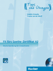 Fit fürs Goethe-Zertifikat A2 + Audio CD (1 szt.)