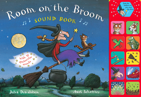 Macmillan Children's Books: Room on the Broom (Sound Book)