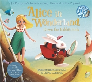 Alice in Wonderland Book and CD Pack - Down the Rabbit Hole