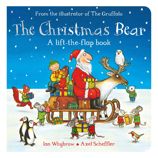 Macmillan Children's Books: The Christmas Bear (board book)